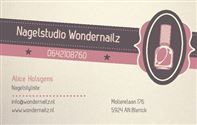 Nagelstudio Wondernailz in Venlo